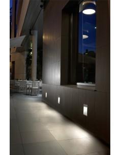 Plafonnier Linéaire INFINITE LED 15-5470-N3-OU LEDS C4 led 120 x led vossloh 51.9w gris