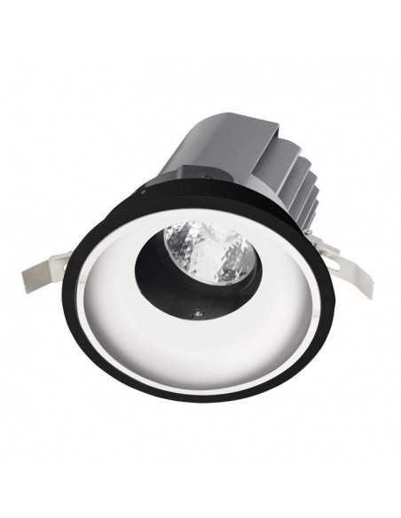 Spot en surface BACCHUS 90-3546-14-00 LEDS C4 1 x g53 max 15w blanc noir