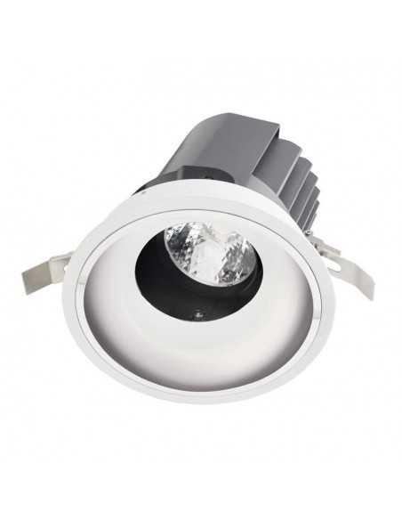 Spot en surface BACCHUS DM-1100-14-00 LEDS C4 1 x g53 max 75w blanc noir