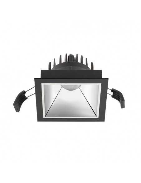 Borne Extérieur CUBIK 10-9386-34-M3 LEDS-C4 1xE27 gris grand 23cm IP54