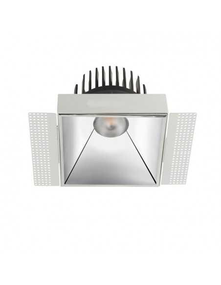 Borne Extérieur CUBIK 10-9938-Z5-CL LEDS C4 21 x led osram 15w gris urbain