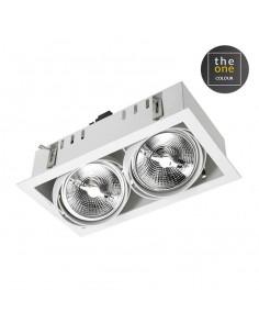 Lampe de table Extérieur CISNE 55-9155-M1-M1 LEDS-C4 1xE27 diam 30cm IP44 blanc