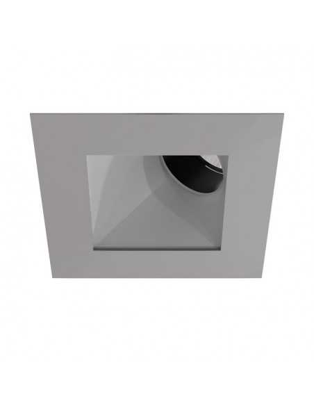 Ventilateur de plafond moderne FARO VENETO 33319 veneto ø106cm nickel mat 1l e27