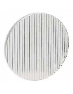 Ventilateurs de plafond grands MANHATTAN 33496 FARO ø244cm nickel mat moteur DC led 15w 3000k
