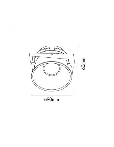 Accessoire FARO 33957 bar 50 cm or vieilli