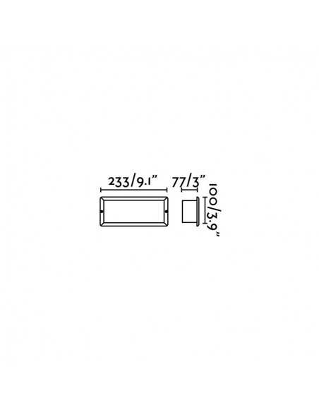 Applique moderne FARO FLEXI 29931 flexi 1l vert - Appliques modernes