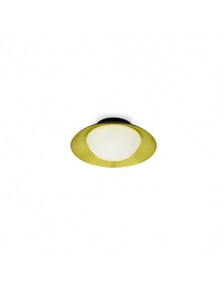 Spot projecteur FARO RING 40564 nickel GU10