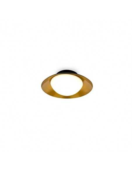 Réglette circulaire FARO MIKA 40887 mika noire 3l gu10