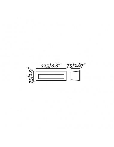Kit de lumière TUBE,ETERFAN,JUST FAN 33391 FARO noir led 17w 3000k pour eter-tube-just fan