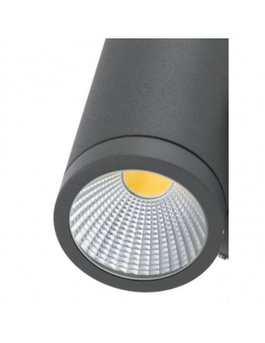 Applique abat-jour FARO ROOM 29977 noir E27 avec lecteur led 2700k