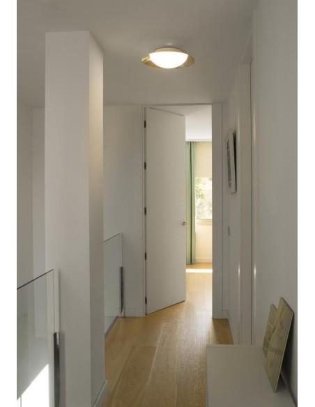 Lampe suspension moderne FARO PLUMA 64170 pluma blanc led 6w 3000k