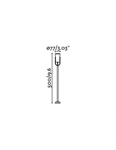 Lampe de table extérieur JARRETT 70478 FARO vert e27
