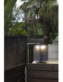 Lampe de table moderne FARO SABA 68546 saba nickel mate e27 h84