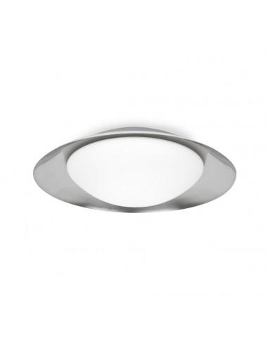 Lampe de table moderne FARO SABA 68545 saba nickel mat e27 h60