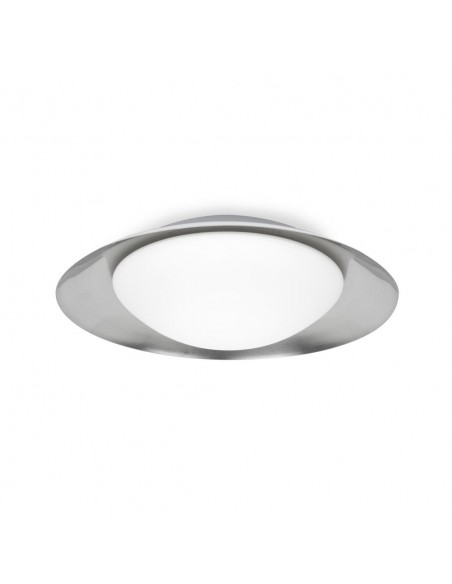 Lampe de table moderne FARO SABA 68545 saba nickel mat e27 h60