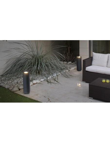 Lampe abat-jour FARO SWEET 29939 nickel mat blanc E27
