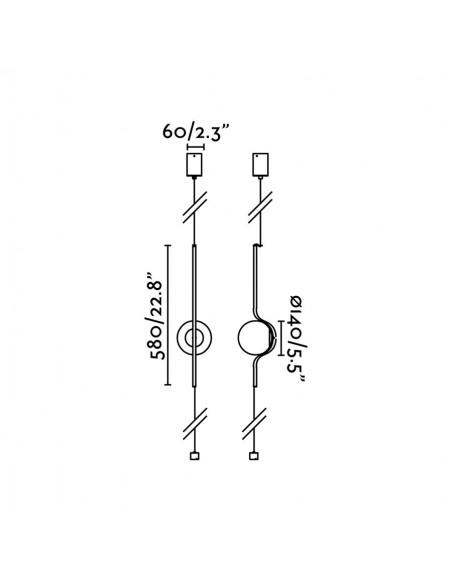 Encastrable led FARO FLAT 42841 panneau 60x60 48w 4000k