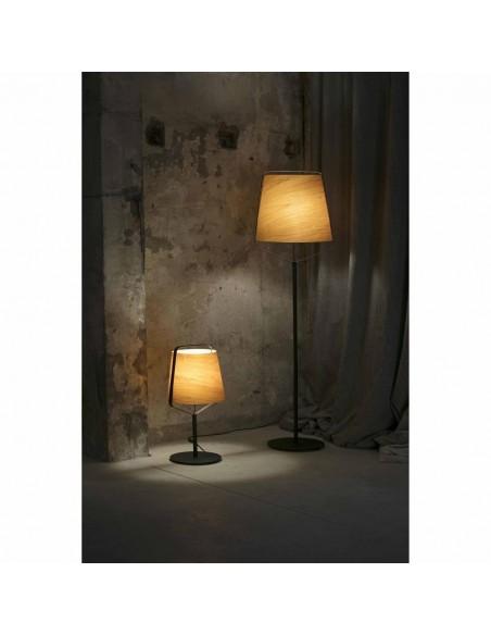 Lampe suspension moderne FARO PAM 64162 pam-g noir-oro led 24w 3000k