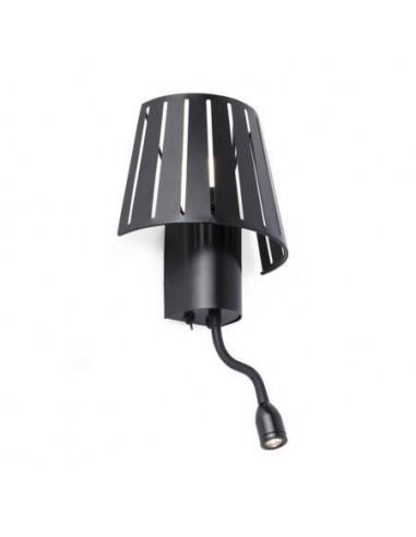Lampe CHARLOTTE 68562 FARO gris foncé 1xe27