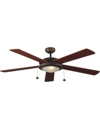 Ventilateur de plafond moderne FARO HONOLULU 33347 honolulu ø106cm niquel 2l g9 cfl