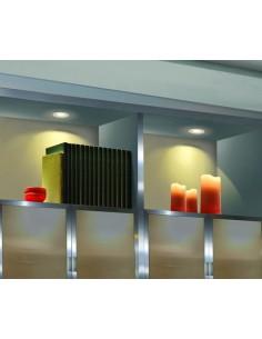 Ventilateur de plafond FARO FEROE 33600 ø106 blanc 2xE14 télécommande incluse
