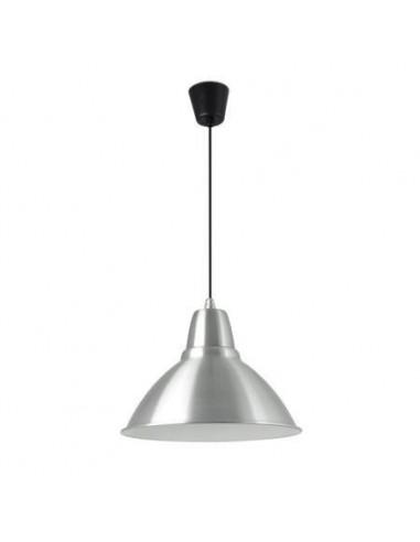Lampe TANGO DT00062N FARO nickel satin abat-jour noire