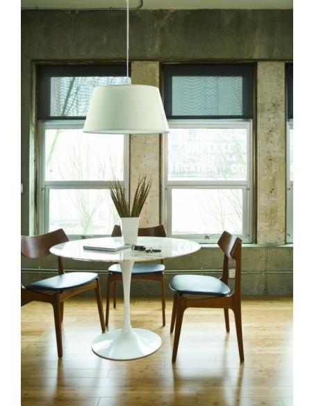 Ventilateur de plafond moderne FARO OVNI 33135 ovni ø132cm blanc 2l e27