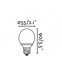 Ventilateur de plafond FARO FARETTO 33389 faretto ø131cm blanc 2l e27 avec télécommande