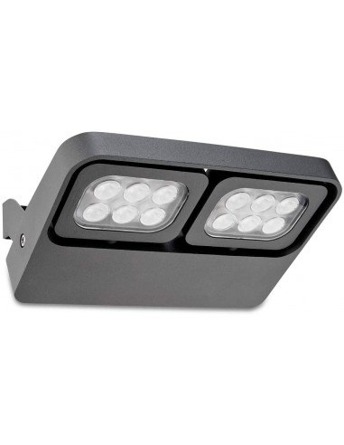 Ventilateur de plafond minimaliste JUST FAN 33395 FARO ø128 noir avec télécommande
